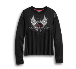 Harley-Davidson® Winged Heart Long Sleeve Tee 96216-20VW