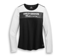 Harley-Davidson® Performance Colorblock Long Sleeve Tee 96229-20VW