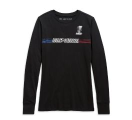 Harley-Davidson® Chest Stripe Long Sleeve Tee 99105-20VW