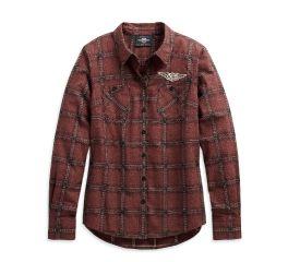 Harley-Davidson® Script Font Plaid Shirt 99117-20VW