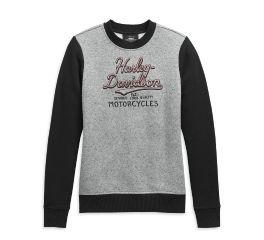 Harley-Davidson® Colorblock Pullover Sweatshirt 99119-20VW