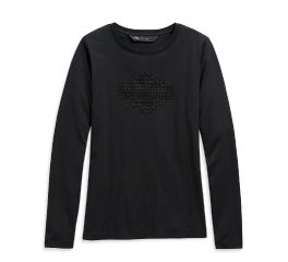 Harley-Davidson® Studded Logo Long Sleeve Tee 99126-20VW