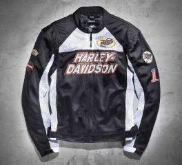 Harley-Davidson® Men's Boulevard Mesh Jacket 97372-13VM