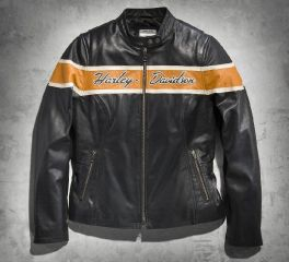 Harley-Davidson® Women's Victory Lane Leather Jacket 98070-14VW