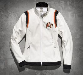 Harley-Davidson® Women's Embroidered Soft Shell Jacket 98546-14VW