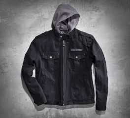 Men's Skull 3-in-1 Canvas Jacket