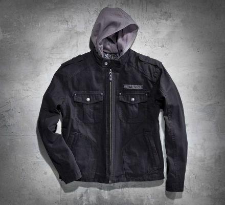 Men's Skull 3-in-1 Canvas Jacket, Harley-Davidson® 98415-08VM