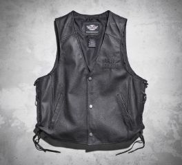 Men's Tradition Leather Vest