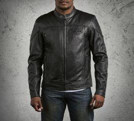 Men's Spoiler Leather Jacket