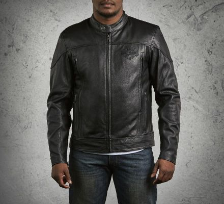 Men's Spoiler Leather Jacket, Harley-Davidson® 98016-10VM