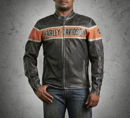 Harley-Davidson® Men's Victory Lane Leather Jacket 98057-13VM