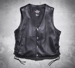 Men's Pathway Leather Vest