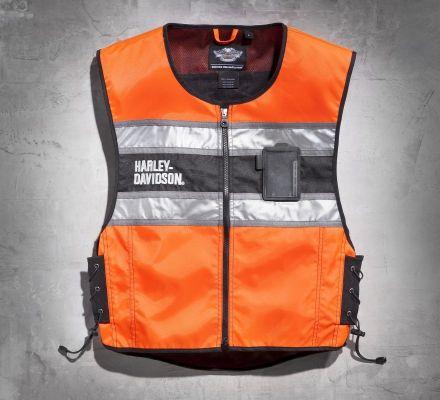 Men's Hi-Vis Vest, Harley-Davidson® 98172-08VM
