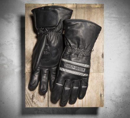 Men's Illumination Gauntlet Gloves, Harley-Davidson® 98213-13VM