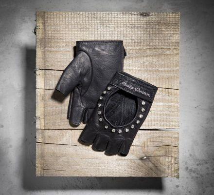 Women's Fingerless Leather Gloves, Harley-Davidson® 98307-12VW