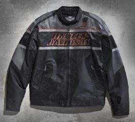 Harley-Davidson® Men's Rumble Nylon Jacket 98526-13VM