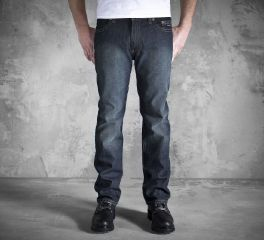 Men's Slim Straight Jeans - Dark Indigo