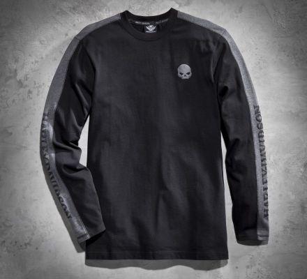 Men's Skull Knit Long-Sleeve Tee, Harley-Davidson® 99068-12VM