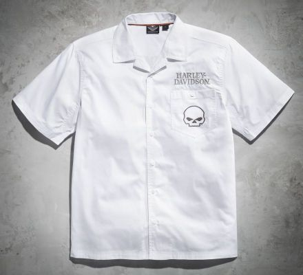 Harley-Davidson® Men's Skull Performance Garage Shirt 99069-12VM