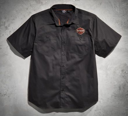Men's Flames Performance Shirt, Harley-Davidson® 99070-12VM