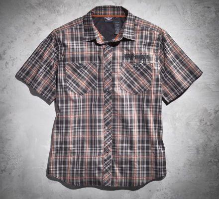 Harley-Davidson® Men's Plaid Performance Shirt 99071-12VM