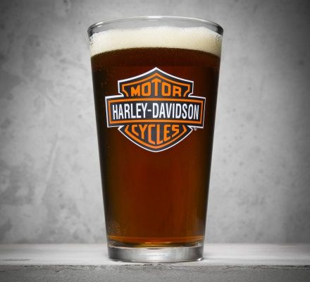Bar & Shield Logo Pint Glass, Harley-Davidson® 99307-13V
