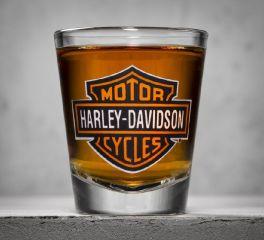 Bar & Shield Logo Shot Glass