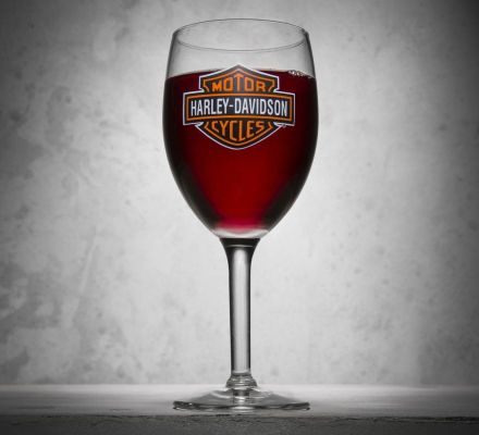Bar & Shield Logo Wine Glass, Harley-Davidson® 99310-13V