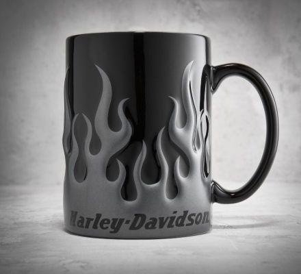 Chrome Flame Mug, Harley-Davidson® 99399-13V