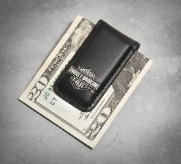 Men's Bar & Shield Logo Money Clip