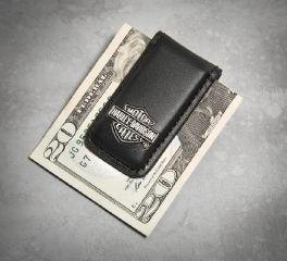 Men's Bar & Shield Logo Money Clip