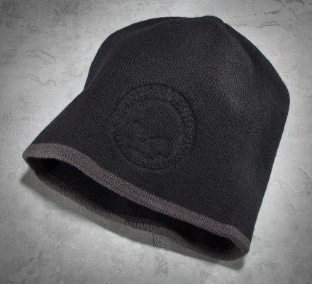 Men's Circle Skull Knit Hat, Harley-Davidson® 99482-07V