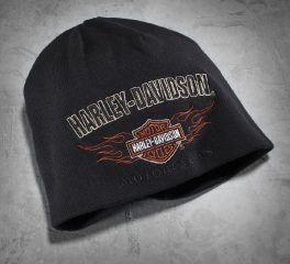 Men's Reversible Flame Knit Hat