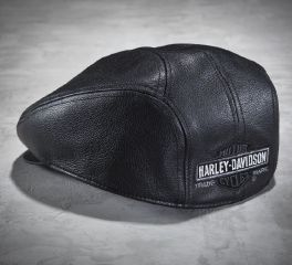 Harley-Davidson® Men's Nostalgic Leather Ivy Cap 99561-04V