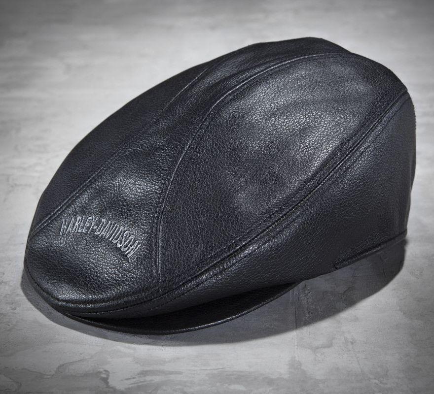 046eb27fa8406 ... Harley-Davidson® Men s Nostalgic Leather Ivy Cap 99561-04V