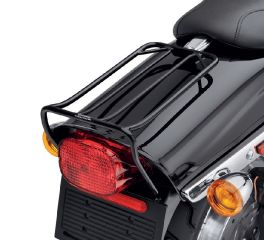 Gloss Black Bobtail Fender Rack