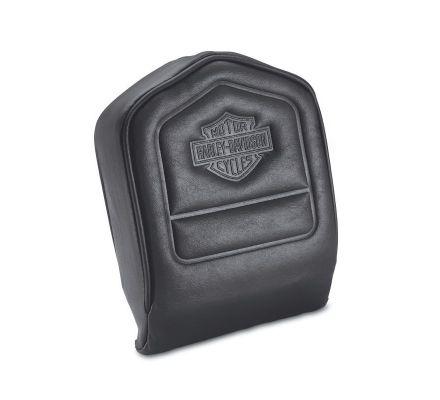 Low Backrest Pad with Embossed Bar & Shield Logo, Harley-Davidson® 52412-79A