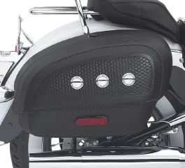 Locking Rigid Saddlebags for Softail Deluxe Models