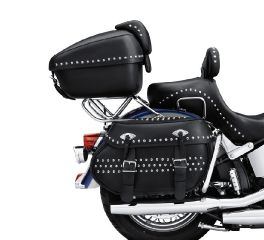 Harley-Davidson® H-D Detachables Two-Up Tour-Pak Luggage Mounting Rack 53066-00D
