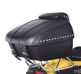 Tour-Pak Luggage- Leather Heritage Softail Classic Styling