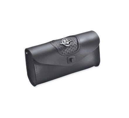 Road King Classic Leather Windshield Bag, Harley-Davidson® 58189-98