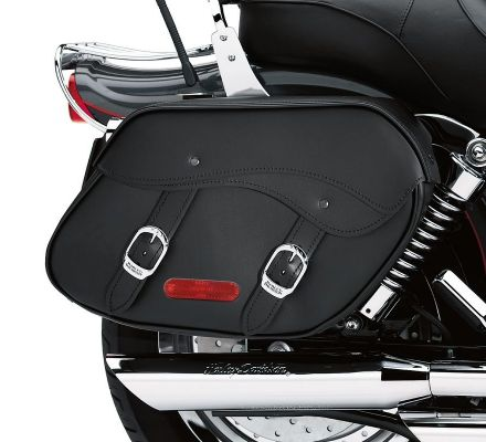 Harley-Davidson® Leather Saddlebags 79300-06D