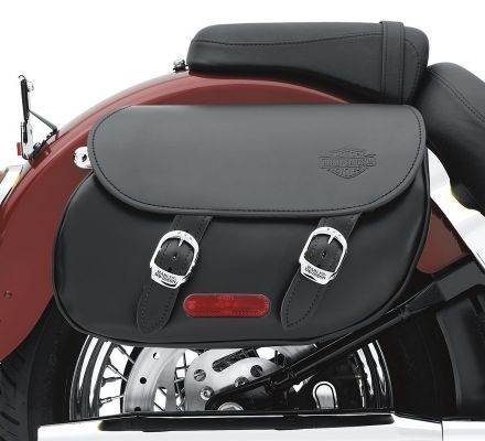 Harley-Davidson® Softail Leather Saddlebags 90133-06B