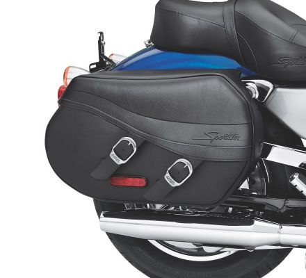Harley-Davidson® Synthetic Leather Saddlebags 90330-08