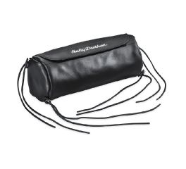 Harley-Davidson® Soft Leather Handlebar/Fork Bag 91773-85
