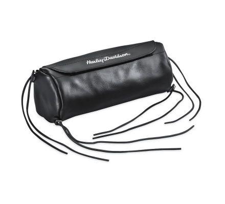 Harley-Davidson® Soft Leather Handlebar/Fork Bag 91773-85