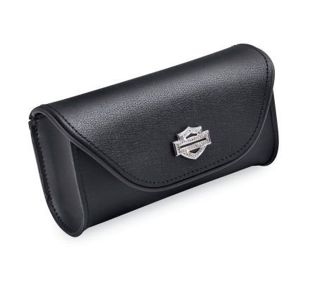 Diamond Ice Leather Windshield Bag, Harley-Davidson® 93300055