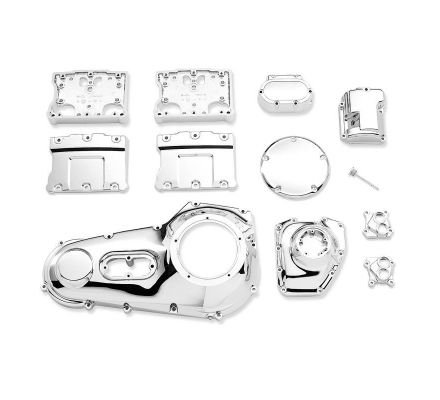 Harley-Davidson® Chrome Engine Kit for Twin Cam-Equipped Models 16318-01A