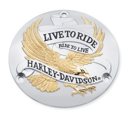 Harley-Davidson® Live To Ride Derby Cover 25391-90T