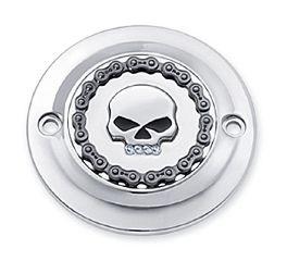 Harley-Davidson® Skull & Chain Timer Cover 25600003